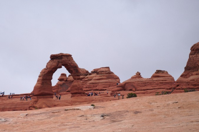 Delicate Arch is one of the most popular sites in the park