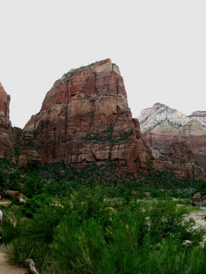 Angel's Landing is the top of this peak